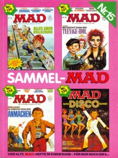 Go to Sammel MAD #15 • Germany • 1st Edition - Williams