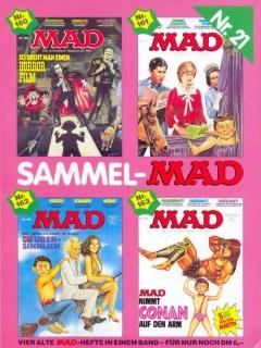 Go to Sammel MAD #21 • Germany • 1st Edition - Williams