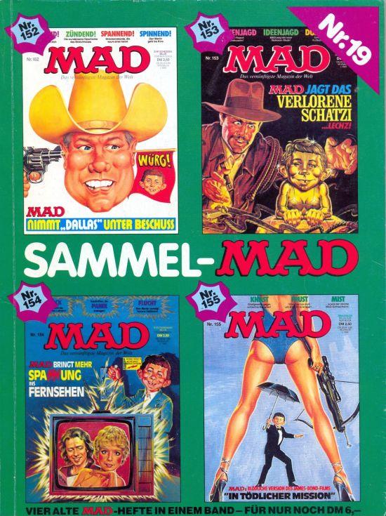 Sammel MAD #19 • Germany • 1st Edition - Williams