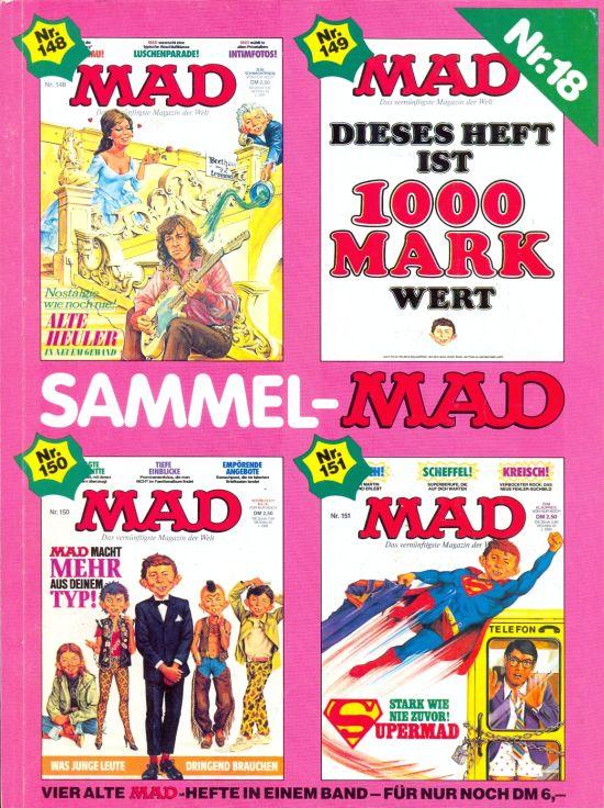 Sammel MAD #18 • Germany • 1st Edition - Williams