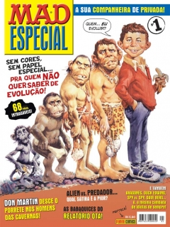 Go to MAD Especial #1 • Brasil • 4th Edition - Panini