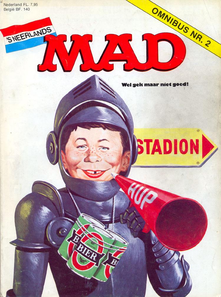 MAD Omnibus #2 • Netherlands • 1st Edition