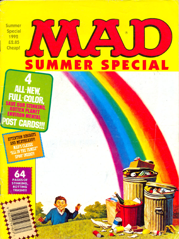 MAD Summer Special 1992 • Great Britain