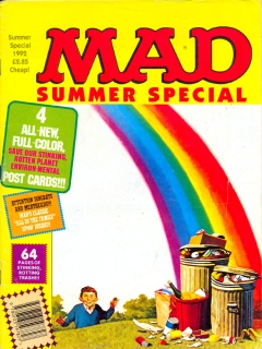 Go to MAD Summer Special 1992 • Great Britain