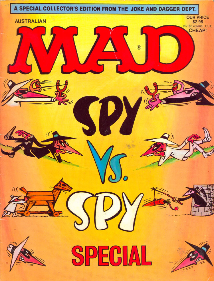 MAD Spy vs. Spy Special • Australia