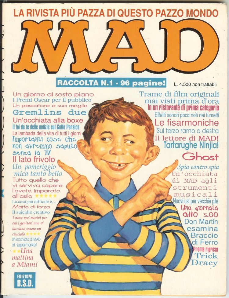 Raccolta di MAD #1 • Italy • 3rd Edition