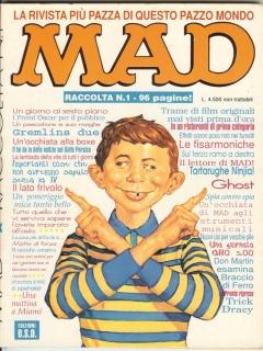 Raccolta di MAD #1 • Italy • 3rd Edition