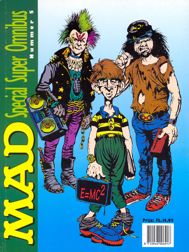 MAD Super Omnibus #5 • Netherlands • 1st Edition