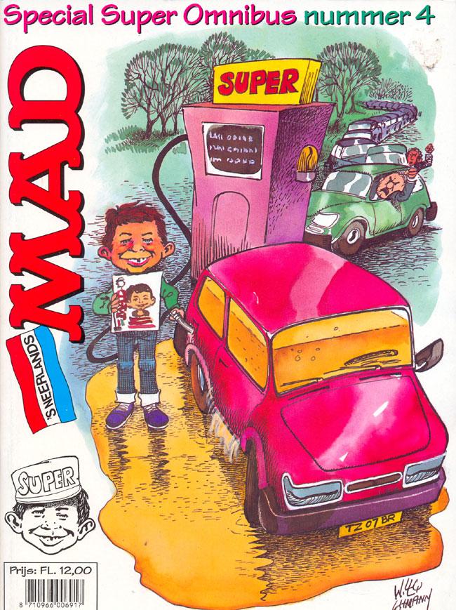 MAD Super Omnibus #4 • Netherlands • 1st Edition