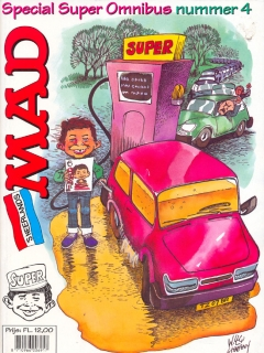 Go to MAD Super Omnibus #4 • Netherlands • 1st Edition