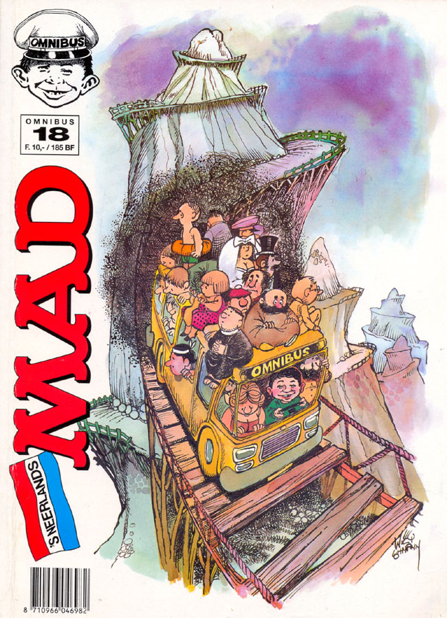 MAD Omnibus #18 • Netherlands • 1st Edition