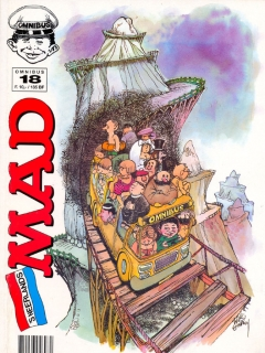 Go to MAD Omnibus #18 • Netherlands • 1st Edition