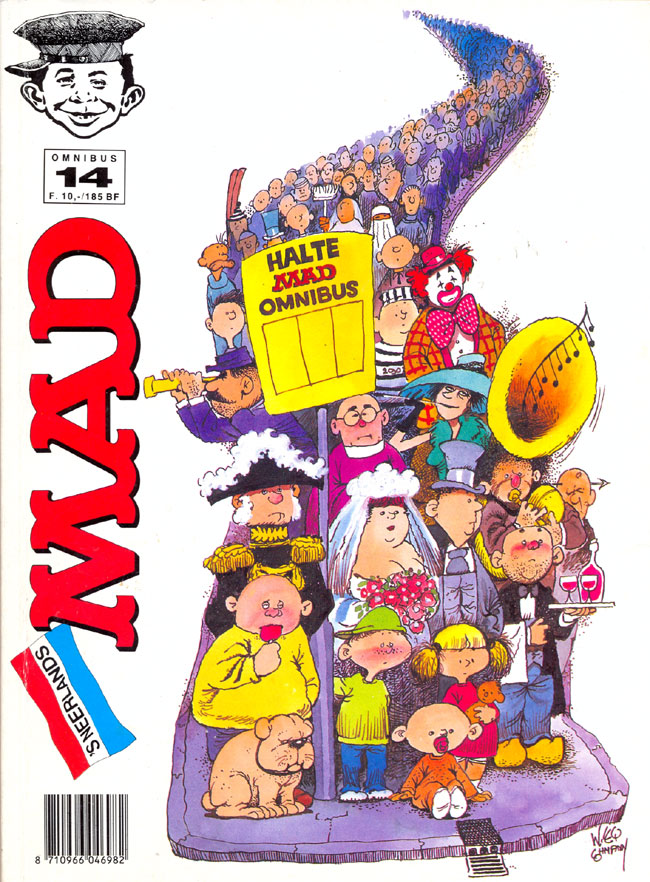 MAD Omnibus #14 • Netherlands • 1st Edition