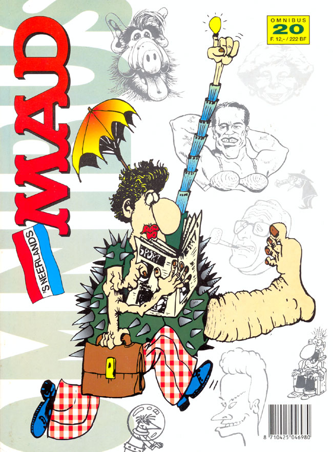 MAD Omnibus #20 • Netherlands • 1st Edition