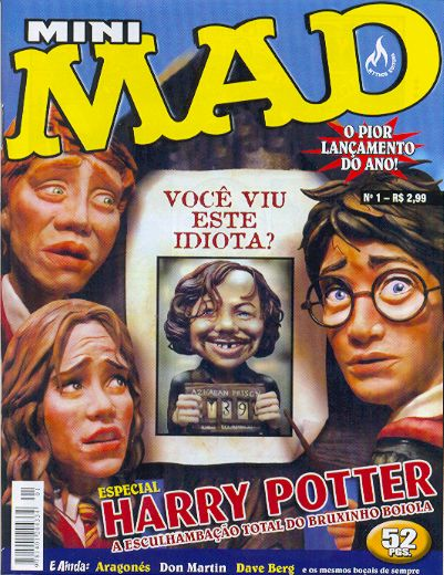 Mini-MAD #1 • Brasil • 3rd Edition - Mythos