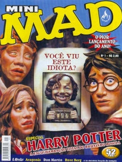 Mini-MAD #1 • Brasil • 3rd Edition - Mythos