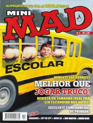 Mini-MAD (Record) #2 • Brasil • 3rd Edition - Mythos