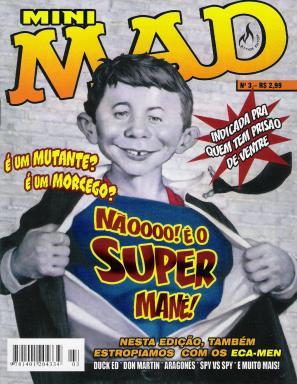 Mini-MAD #3 • Brasil • 3rd Edition - Mythos