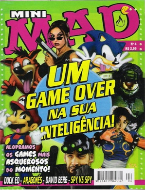 Mini-MAD (Record) #4 • Brasil • 3rd Edition - Mythos