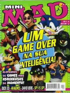 Mini-MAD #4 • Brasil • 3rd Edition - Mythos