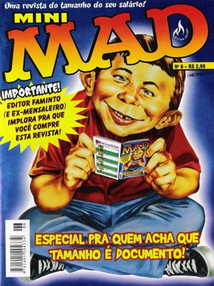 Mini-MAD #6 • Brasil • 3rd Edition - Mythos