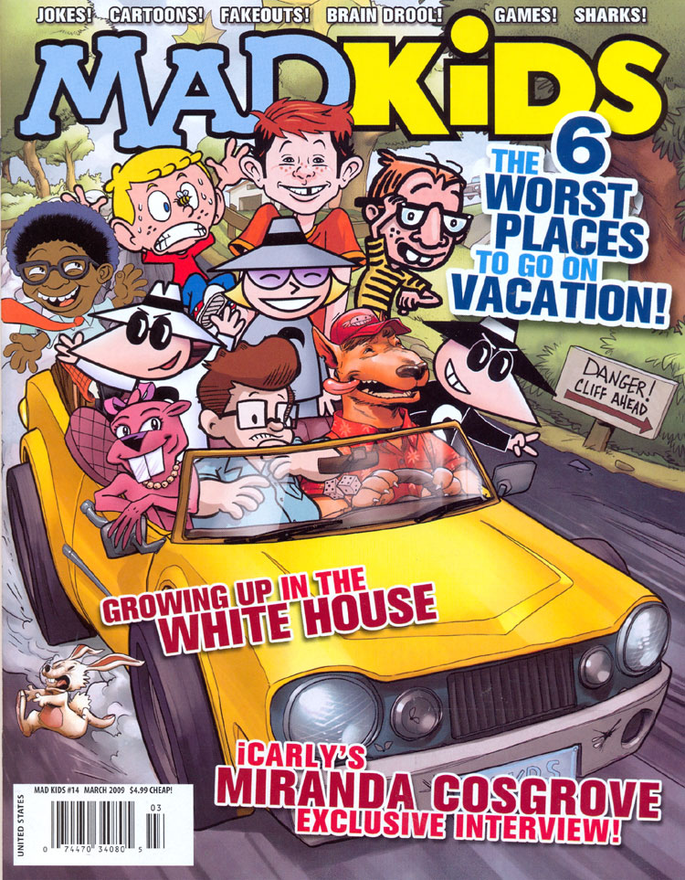 MAD Kids #14 • USA • 1st Edition - New York