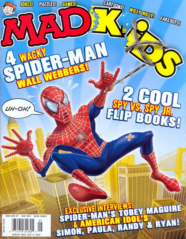 MAD Kids #7 • USA • 1st Edition - New York