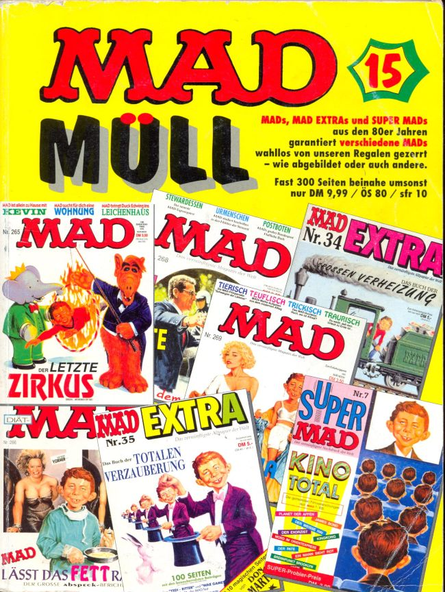 MAD Müll #15 • Germany • 1st Edition - Williams