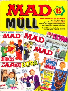 Go to MAD Müll #15 • Germany • 1st Edition - Williams