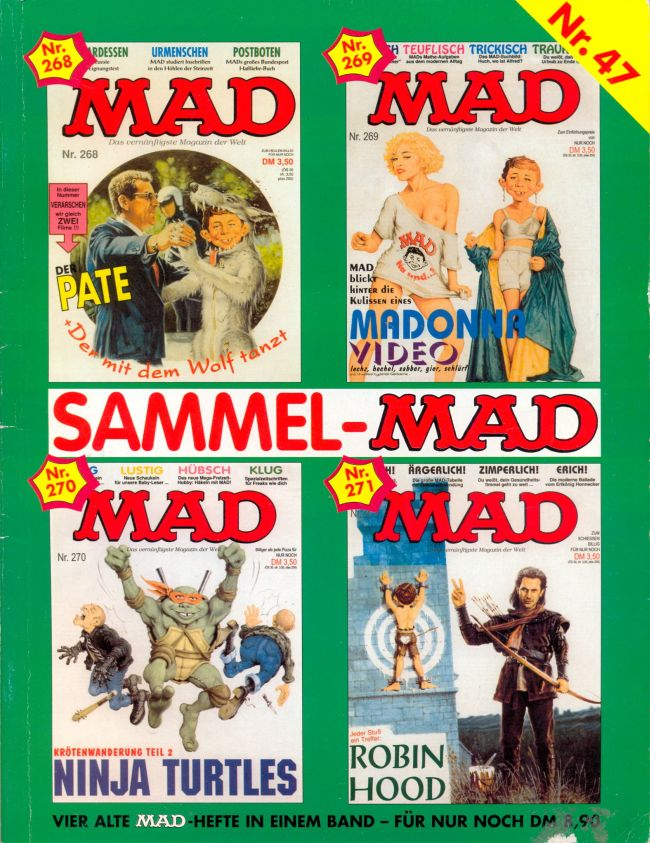 Sammel MAD #47 • Germany • 1st Edition - Williams