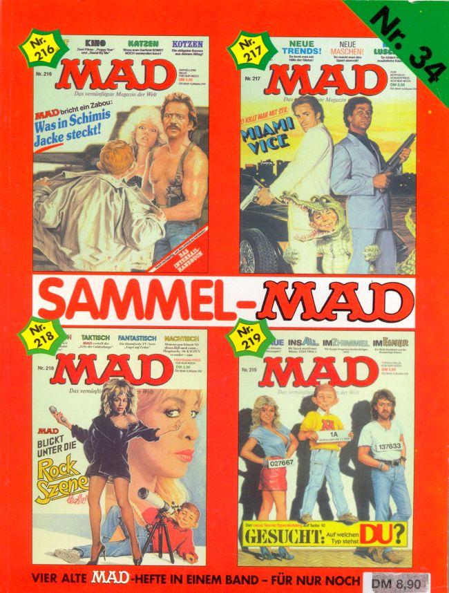 Sammel MAD #34 • Germany • 1st Edition - Williams