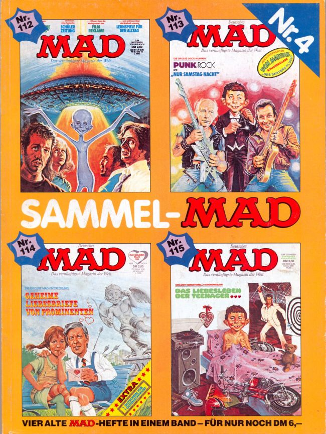 Sammel MAD #4 • Germany • 1st Edition - Williams