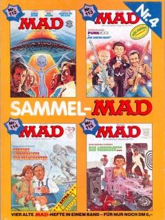 Go to Sammel MAD #4 • Germany • 1st Edition - Williams