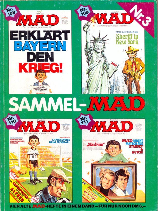 Sammel MAD #3 • Germany • 1st Edition - Williams