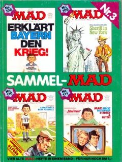 Go to Sammel MAD #3 • Germany • 1st Edition - Williams