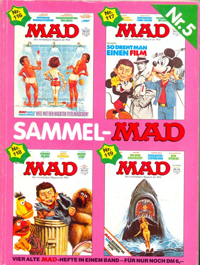Sammel MAD #5 • Germany • 1st Edition - Williams