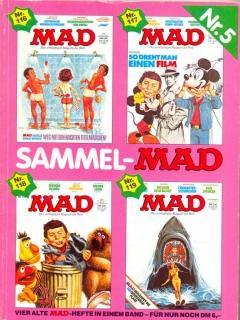 Go to Sammel MAD #5 • Germany • 1st Edition - Williams