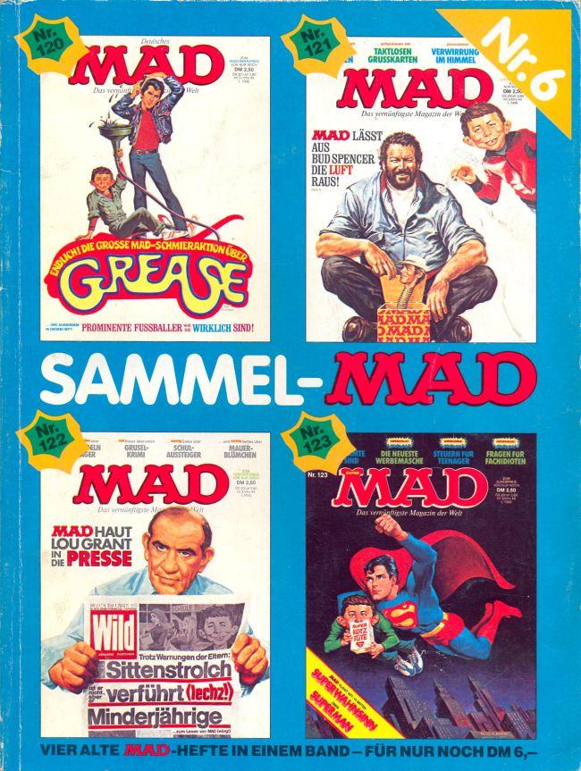 Sammel MAD #6 • Germany • 1st Edition - Williams
