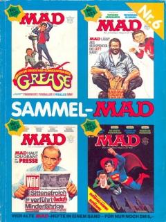 Go to Sammel MAD #6 • Germany • 1st Edition - Williams