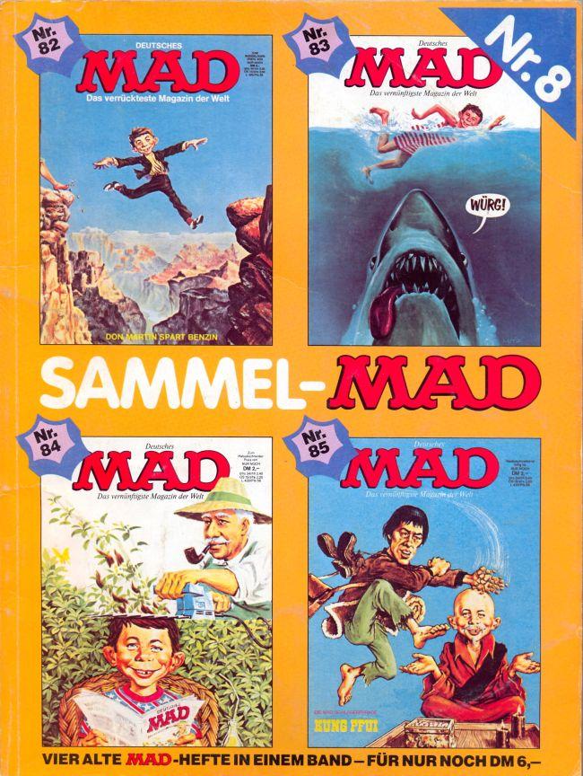 Sammel MAD #8 • Germany • 1st Edition - Williams