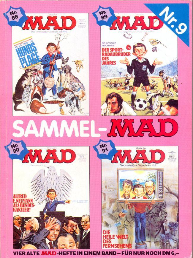 Sammel MAD #9 • Germany • 1st Edition - Williams