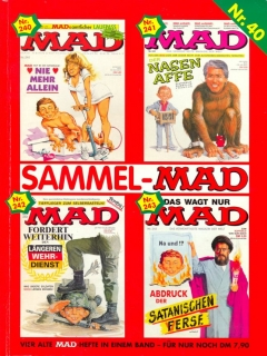 Go to Sammel MAD #40 • Germany • 1st Edition - Williams