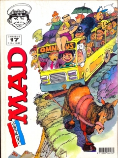 Go to MAD Omnibus #17 • Netherlands • 1st Edition