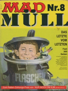 MAD Müll #8 • Germany • 1st Edition - Williams