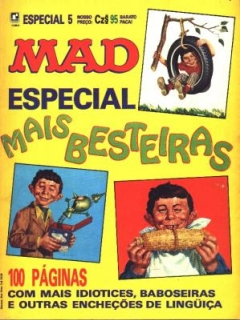 Go to MAD Especial #5 • Brasil • 2nd Edition - Record