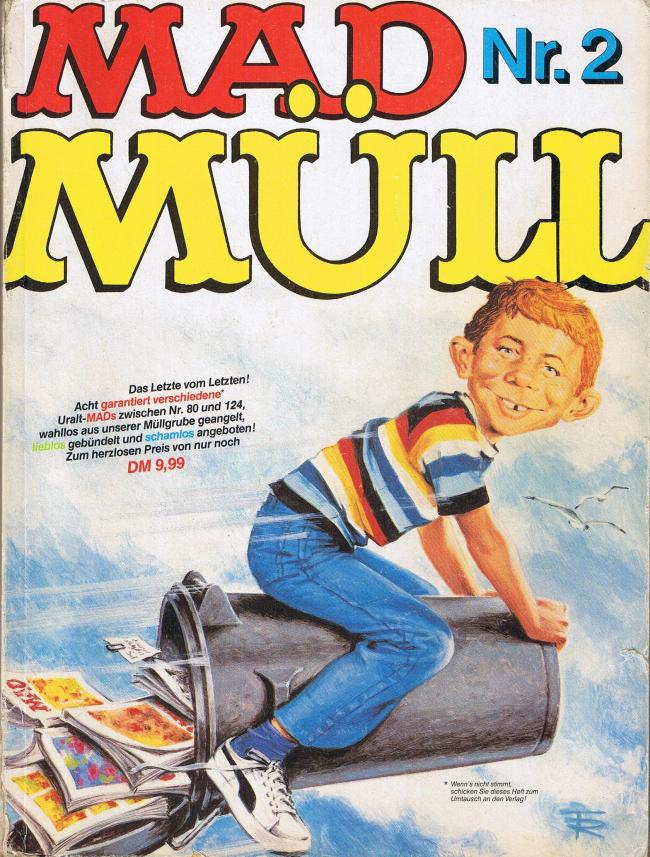 MAD Müll #2 • Germany • 1st Edition - Williams