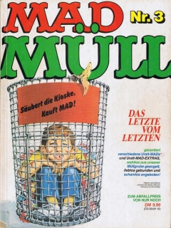 Go to MAD Müll #3 • Germany • 1st Edition - Williams