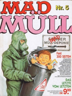 MAD Müll #5 • Germany • 1st Edition - Williams