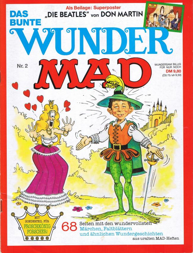 Das Bunte Wunder MAD #2 • Germany • 1st Edition - Williams