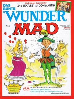 Wunder MAD #2 • Germany • 1st Edition - Williams